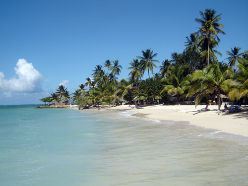 Playa de Piggeon Point, Tobago