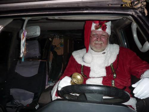 Santa Claus se va de viaje