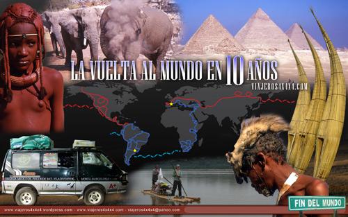 Cartel de La Vuelta al Mundo en 10 Años