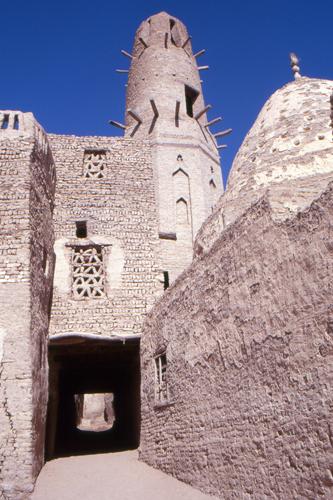 Casco antiguo de Qasr, Sahara, Egipto