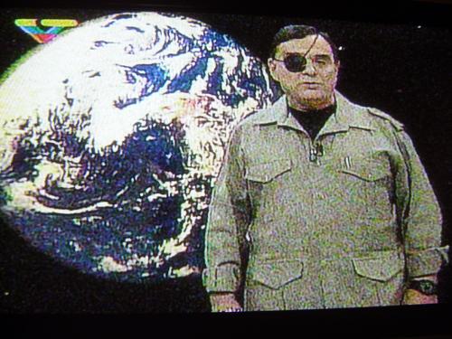 Presentador de la televisión oficialista del Chavestán