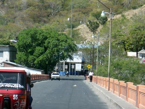 Frontera de Honduras con El Salvador
